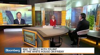 Trump Greets U.K.'s May as World Leaders Look For Cues