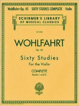 Franz Wohlfahrt - 60 Studies, Op  45 Complete: Books 1 and 2