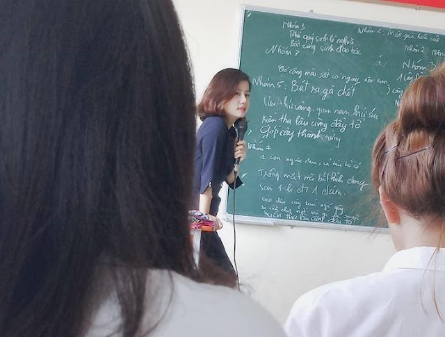 """Lộ diện nhan sắc thật của cô giáo ĐH Công Nghiệp xinh như hot girl được CĐM """"săn lùng"""""""