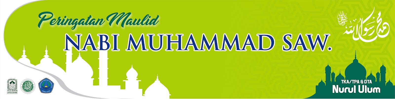 Download Template Spanduk Maulid Nabi Muhammad SAW. 2017 ...