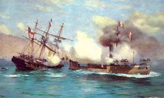 Combate de Iquique (21 de Mayo 1879)