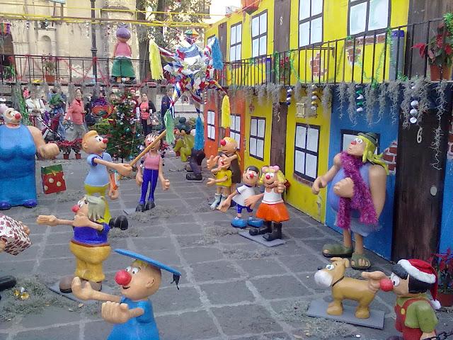 Navidad en Coyoacán con la Familia Burrón