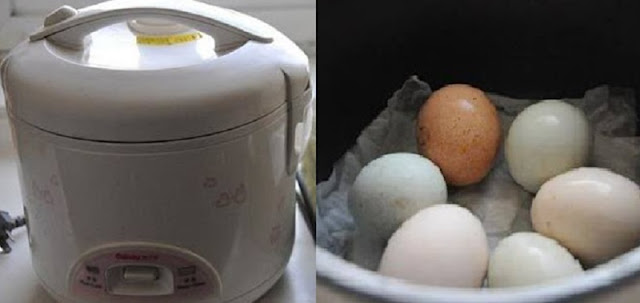 Bunda Harus Tau ! Hemat Gas dan Air Serta Praktis dengan Merebus Telur di Rice Cooker! Begini Caranya