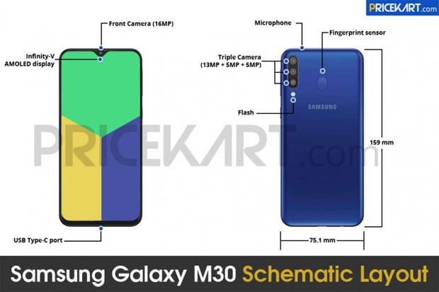 Heboh Spesifikasi Samsung Galaxy M30 Bocor di Internet 5