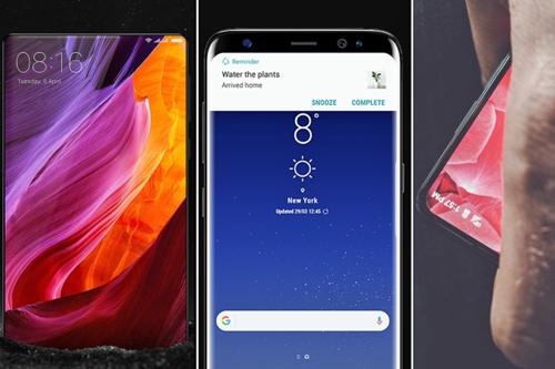 Smartphones: tela infinita deve ser tendência em novos smartphones topo de linha
