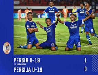 Persib Bandung Juara Liga 1 U-19 2018, Kalahkan Persija 1-0