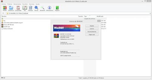 WinRAR 5.00 Final (x86-x64) Incl Key setup free