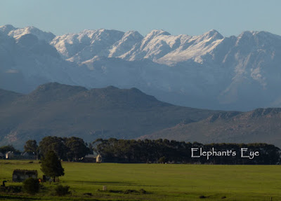June 2014 Tulbagh mountains