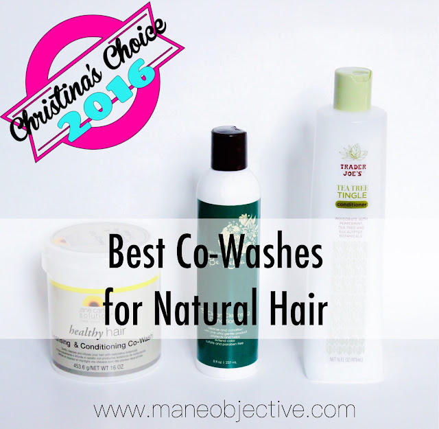 Christina's Choice 2016: Best Shampoos and Co-Washes for Natural Hair