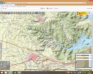 Plano de Minglanilla Cuenca Zona de Los Yesares