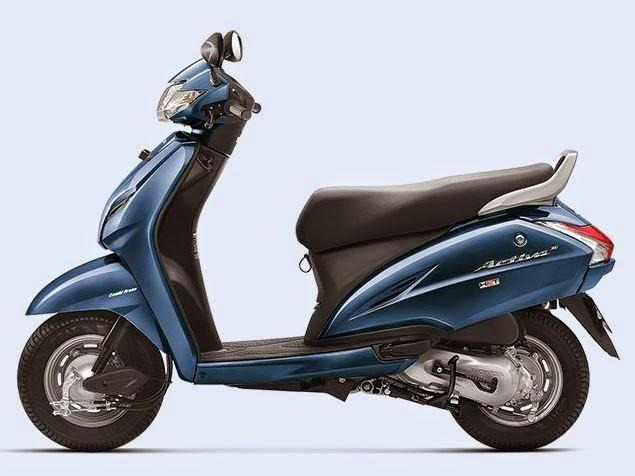 Honda Activa 3G blue color