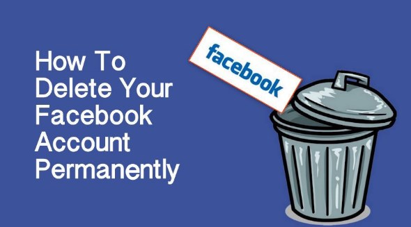 How to delete facebook permanently account