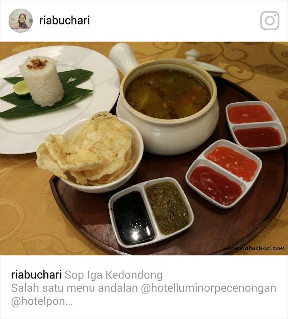 Sup Iga Kedondong Hotel Luminor Pecenongan
