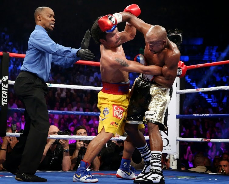 Battle for Greatness: Pacquiao vs. Mayweather