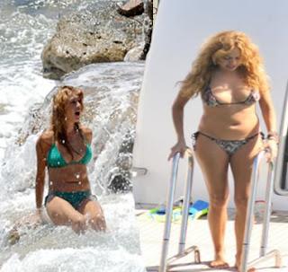 Paulina Rubio gorda