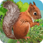 ZooZooGames Squirrel Esca…