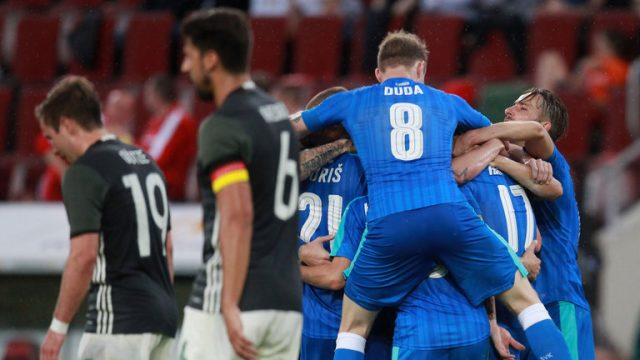 Jerman vs Slovakia