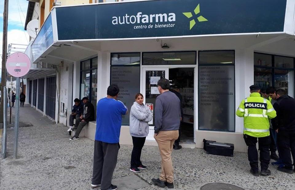 Asalto a Farmacia en Ushuaia