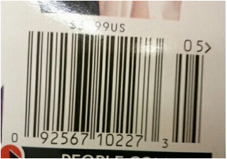 Checkpoints Barcodes : People Magazine