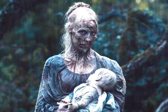 La madre zombi de Orgullo y prejuicio y zombis - Cine de Escritor