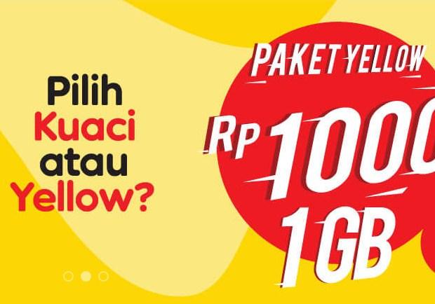 Menon-Aktifkan Paket Yellow Indosat