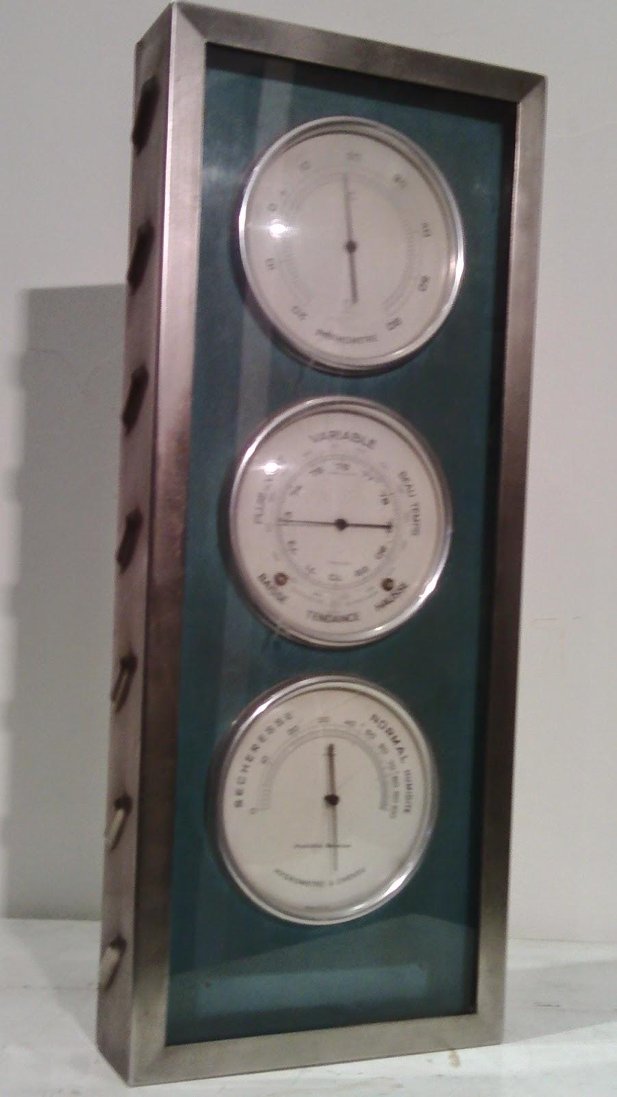 Station m teo naudet ann es 60 barometre thermometre hygrometre a cheveux - Loft industriel playing circle ...