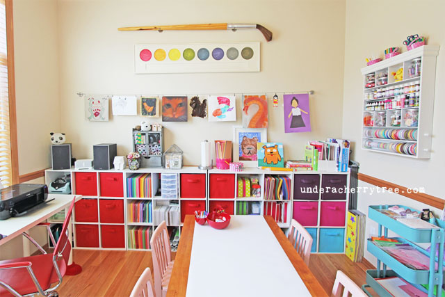 Give Your Kids A Space To Create: 10 Tips For A Kids Craft Room|