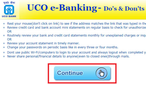 how to apply for cheque book in uco bank