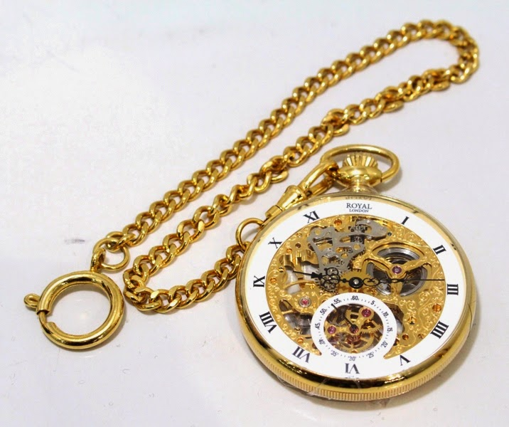 Royal london pocket watch rl 90001-52 wht