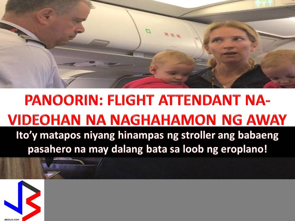 It seems that commotion inside the airplanes is common nowadays involving passengers and airline employees.  Last April 10 Dr. David Dao, the 69-year-old Vietnamese-American doctor was hospitalized after Chicago aviation police dragged him from the overbook United Airlines plane.  The video of bloody Dao was circulating on the internet that sparks international outrage and resulted to public relation nightmare to the carrier.  Recently another video posted on Facebook by Surain Adyanthaya shows an altercation between an American Airlines flight attendant and a male passenger who stood up for a mother who was apparently the target of the attendant's aggressive action.