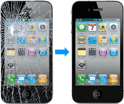 Thay mat kinh iPhone 4 tai Ha Noi