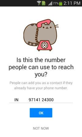 facebook messenger apk old version