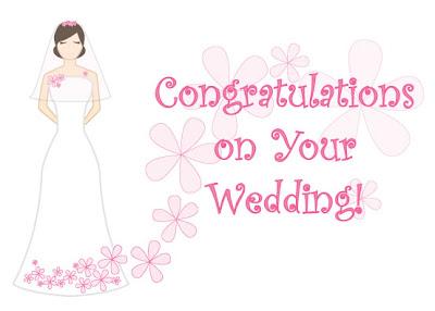 Gambar Kartu Ucapan Selamat Pernikahan