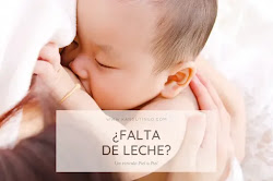 ¿Falta De Leche?