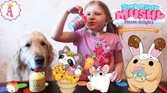 Smooshy Mushy или Сквиш Мякиш: новые игрушки антистресс для детей в форме животных и ароматных вкусняшек