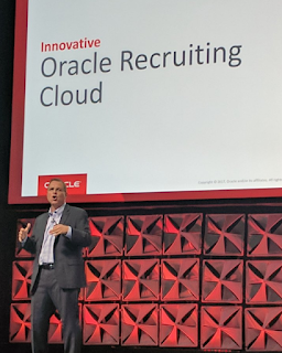 Oracle Open World 2017 - Holger Mueller Constellation Research - Leone HCM Oracle Recruiting Cloud