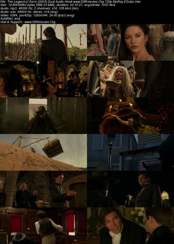 The Legend of Zorro (2005) Dual Audio Hindi 720p BluRay