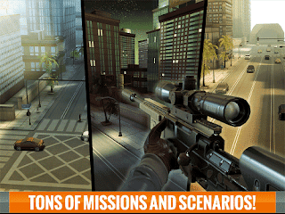 Sniper 3D Assassins v1.14.1 MOD APK (Unlimited Coins) Terbaru 2016