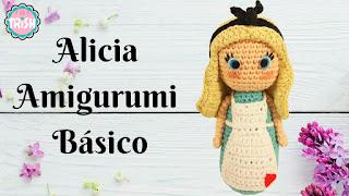 PATRON GRATIS ALICIA EN EL PAIS DE LAS MARAVILLAS AMIGURUMI 31378