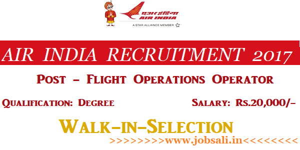 Air India Careers, Air India Vacancy, Air India jobs