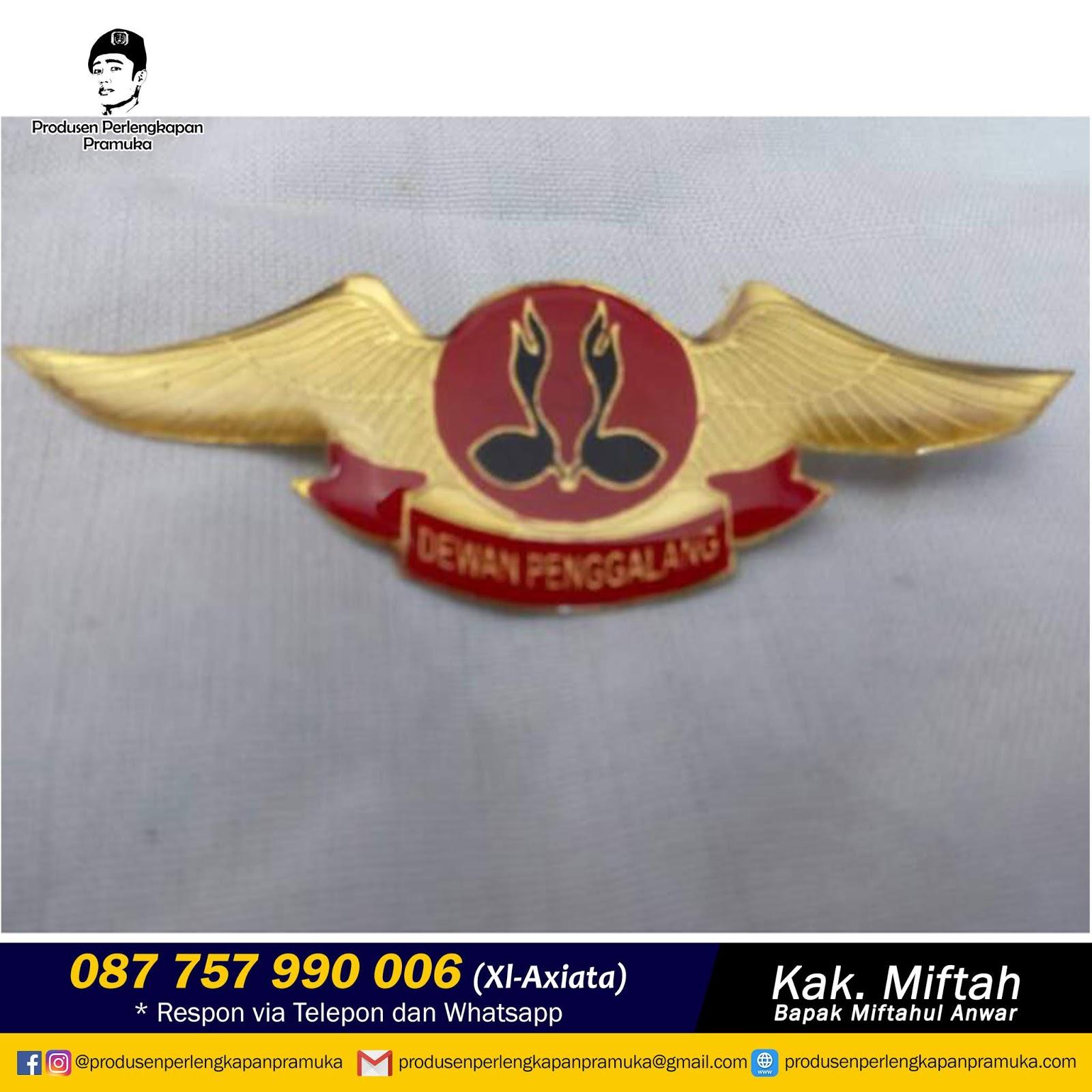 Jual Wing Pramuka Penggalang |  Grosir Wing Pramuka Penggalang | Produksi Wing Pramuka Penggalang