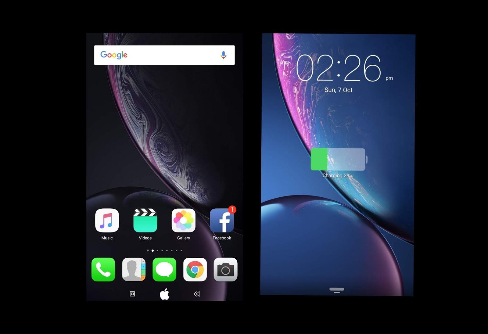 Apple Ios Theme] Download Latest Apple Ios Theme For EMUI 5