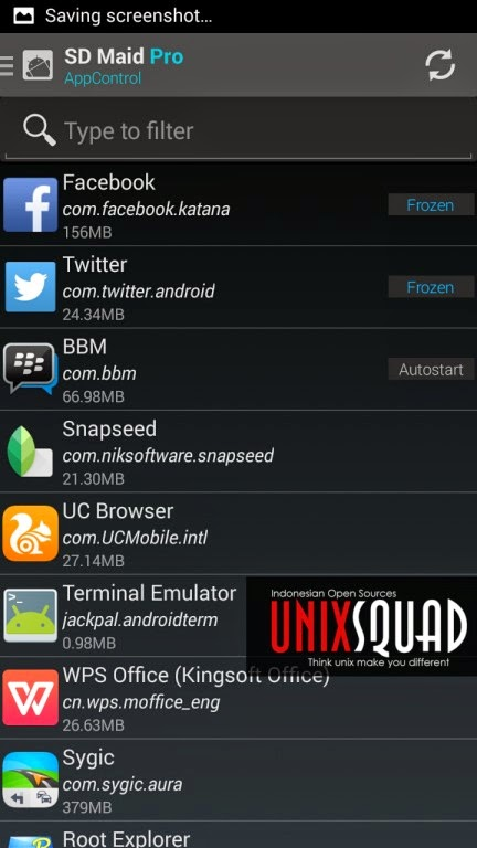 Cara Freeze Aplikasi Android