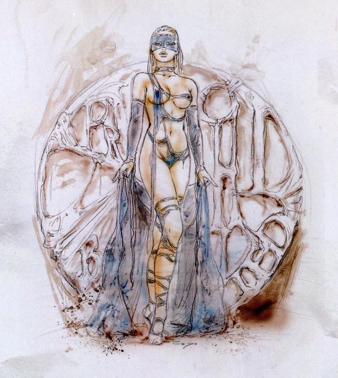 Luis Royo Prohibited sketchbook (2004)