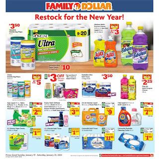 ⭐ Family Dollar Ad 1/26/20 ⭐ Family Dollar Weekly Ad January 26 2020