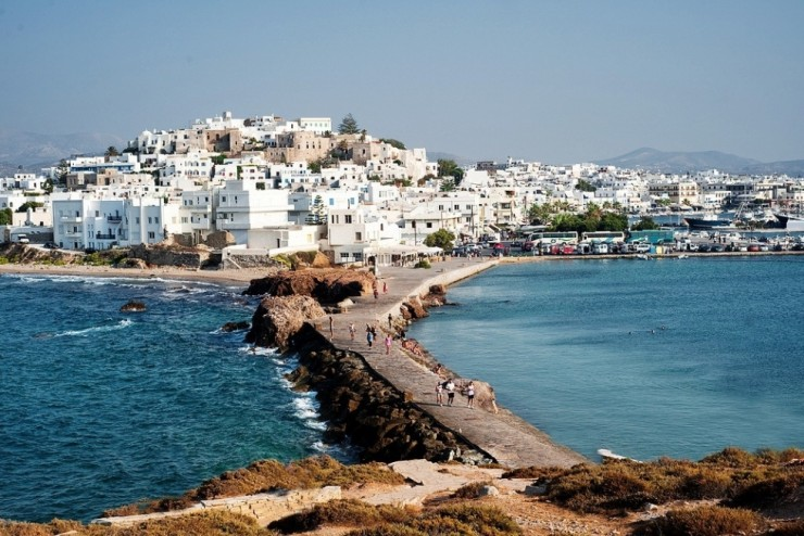 9. Naxos, Cyclades Island Group - Top 10 Magnificent Greek Beaches 2015