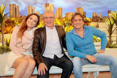 Dalila de Nóbrega, Carlos e Marcelo (Crédito: Lourival Ribeiro/SBT)