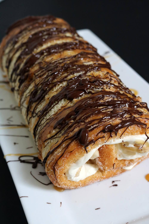 Banoffee Roulade Recipe | Bake Off Bake Along | Hungry Little Bear