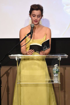 Emma Watson in yellow dress