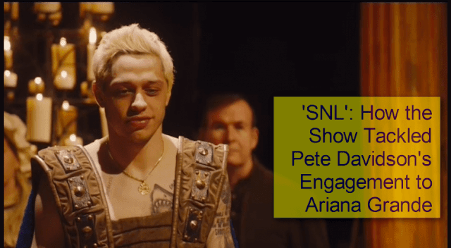 'SNL': How the Show Tackled Pete Davidson's Engagement to Ariana Grande and got a pet pig